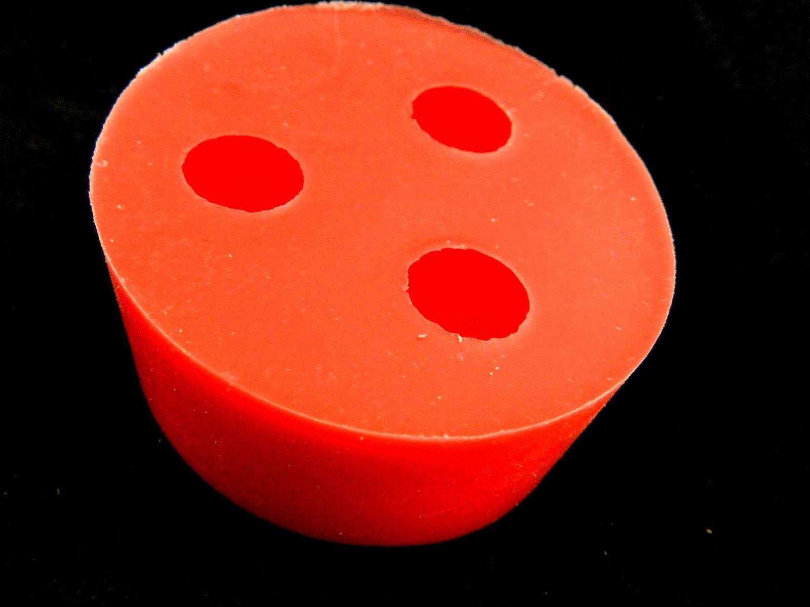 3D moule Silikonform3x 25 mm silicone de la balle balle balle pour moule de résine de confection de bijoux pendentif boule de jwelry moule résine moule boule résine forme 4d975f