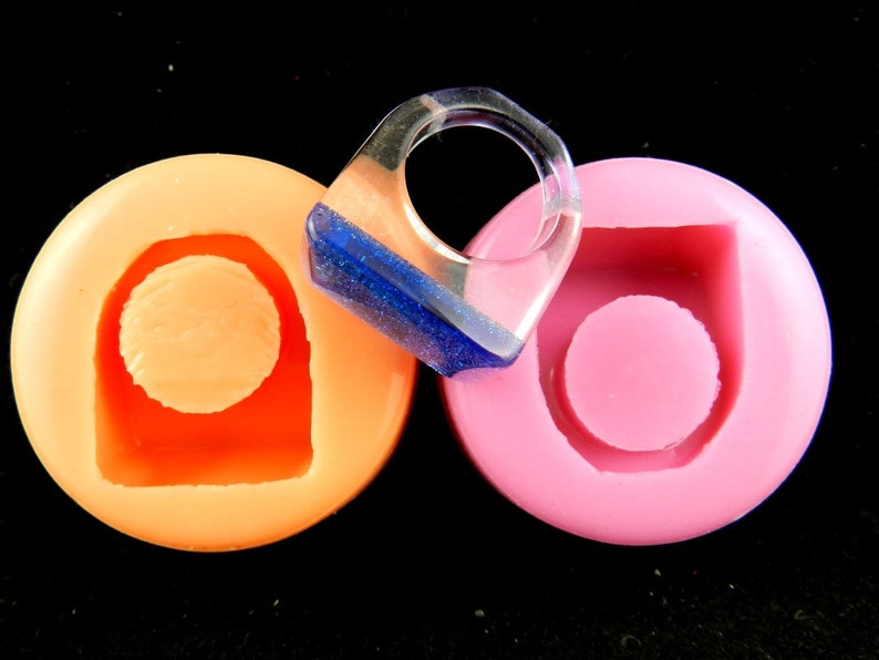 Silicone shape ring 17.5 mm resin mold silicone molds for jewelry made from resin finger ring jewelry mold casting mold for jewelry made of resin