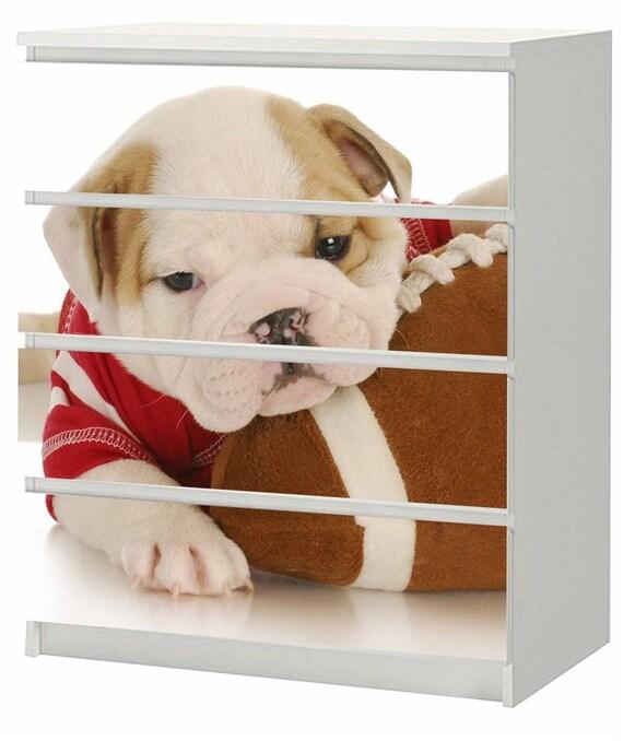 Sticker For Ikea Malm Dresser 80 X 100 Cm Puppy F