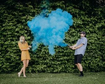 Powder Cannon Gender Reveal Pink, Blue, Random Confetti Cannons Confetti and Powder Confetti or Holi Powder