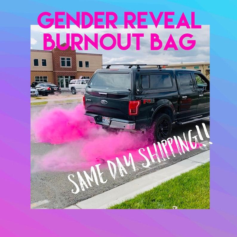 Original Burnout Gender Reveal Packs Simple Black Tire Pack Etsy