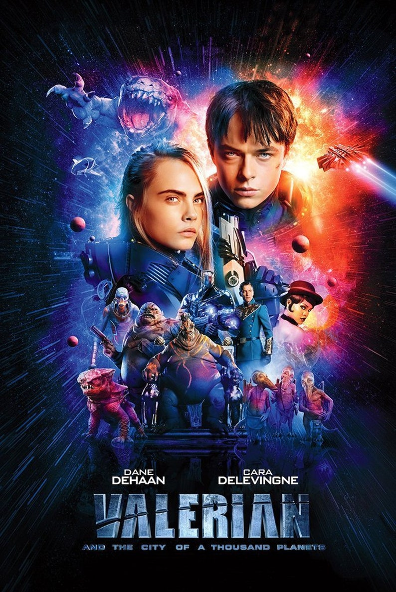 Valerian 11x17 Promo Movie POSTER