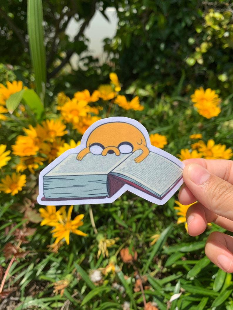 Adventure Time Finn Decal Sticker Funny Nerd Jake Dog Cartoon Laptop Vinyl