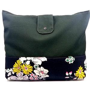 Handmade Blue Polka-Dot Shoulder Bag Shoulder Bag Colorful Shopping Bag Eco-Friendly Fashion Cork Bag Recycled Material Tote KirsaK