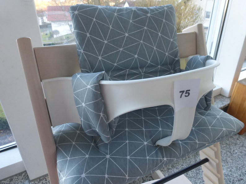 Tripp Trapp seat cushion set coated fitting for Stokke high chair 2-piece pillow set