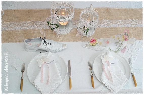 Table Top Jute 10 M X 30 Cm Natural Table Runners Wedding Etsy