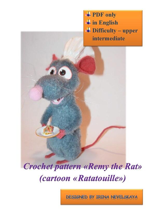 Ratatouille crochet pattern (con imágenes) | Amigurumi patrones ... | 806x570