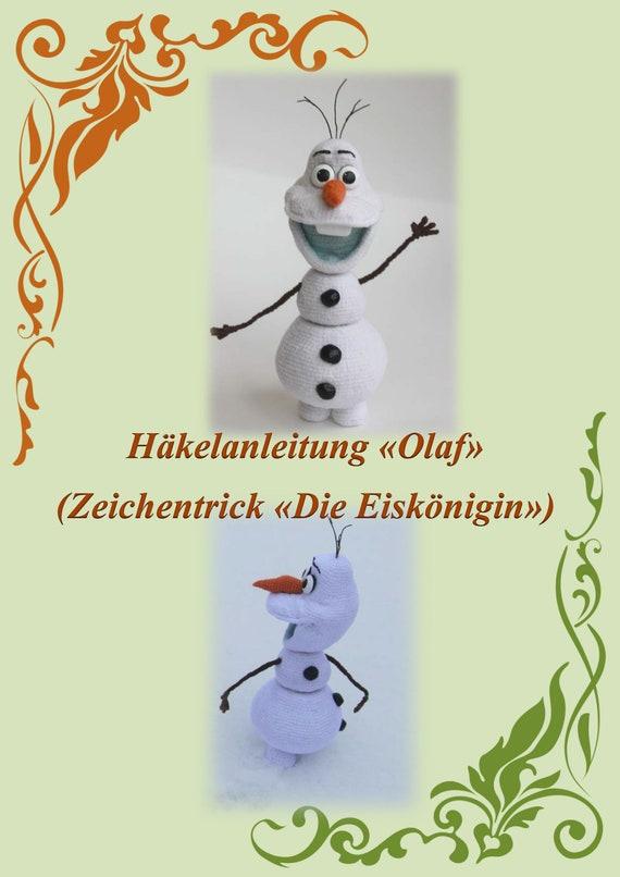 Snowman Olaf | Häkeln olaf, Frozen häkeln, Weihnachtliche häkelmuster | 806x570