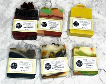 Shea Soap Bar | 3 Bars Artisan Soap made with Shea butter and coconut milk