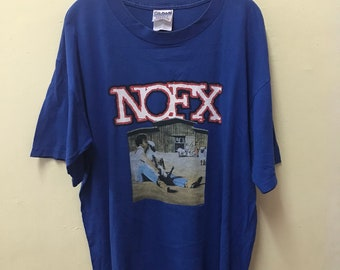 cheaper 31f11 eb41e Nofx Heavy Peeting Zoo American Punk Rock Band Shirt Large Size