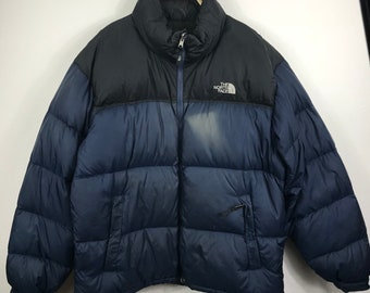 f710d2b7ff North Face Fill 700 Nuptse Goose Down Jacket With Stow Pocket Very Rare  Packable Jacket  Winter Jacket  Puffer Jacket