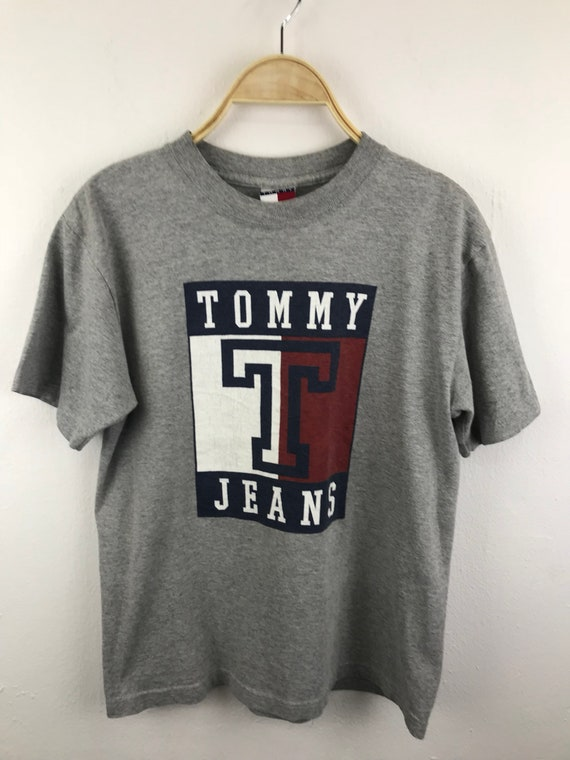 Tommy Hilfiger Big Logo Shirts For Kid Medium Size