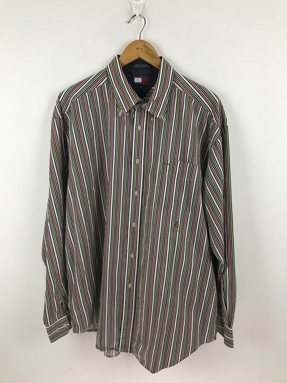 Tommy Hilfiger Multicolor Stripe XL Size