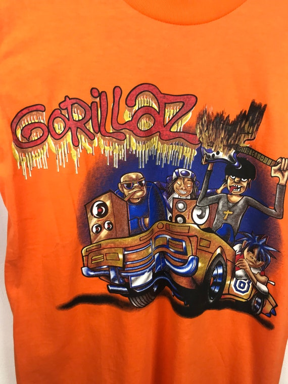 gorillaz band shirt - image 3