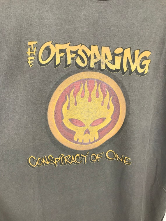 Vintage The Offspring tee shirt Conspiracy of one promo album large size