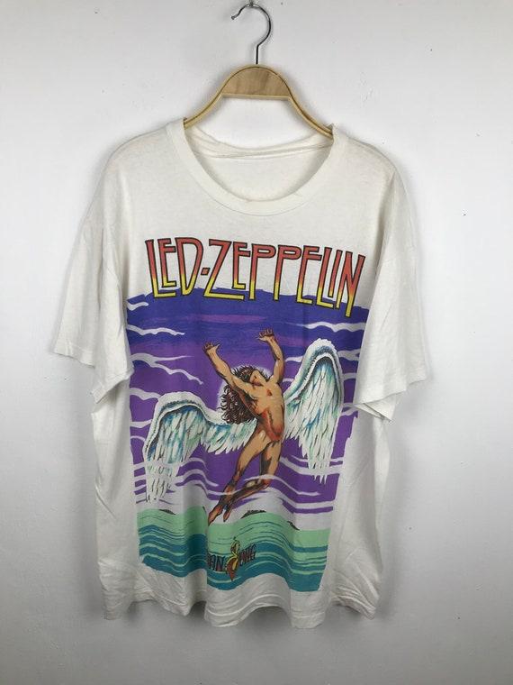 led zeppelin swan song shirt