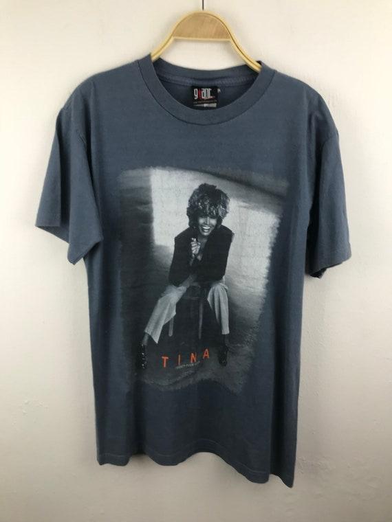 Tina Turner Tour Concert Tour T-Shirt/Twenty Four