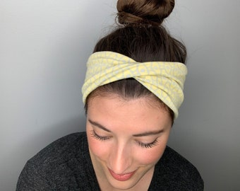 Twisted Headband Single Twist Headband Women/'s Headband Head Wrap light pink Turban Girl headbands,peach headband Thick Headband