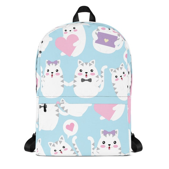 Cats Speech Bubble Love Backpack
