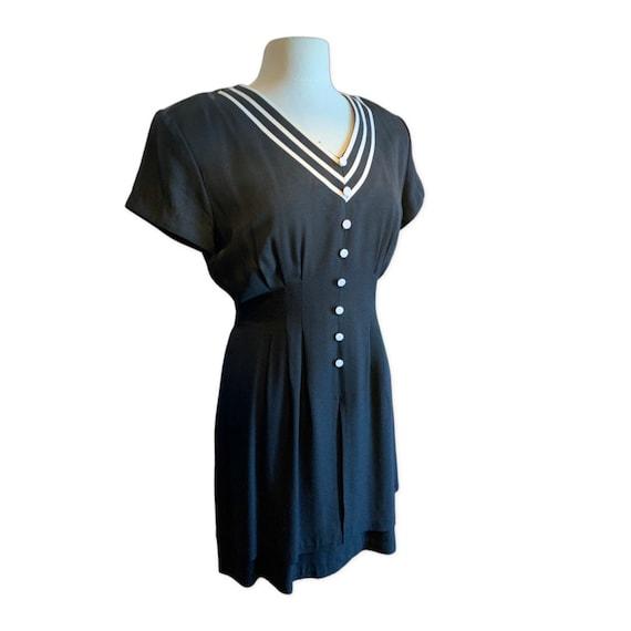 1940's Style Vintage Dress - image 1