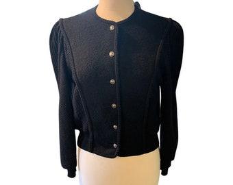 Vintage Black cardigan sweater