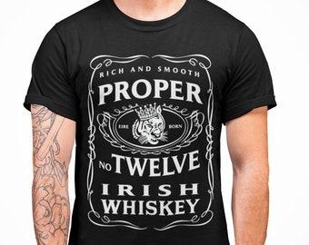 f2e992b8 Proper 12 Irish Whiskey McGregor T shirt Funny T shirt