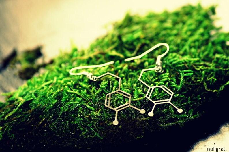 Strukturform Earrings Dopamine image 0