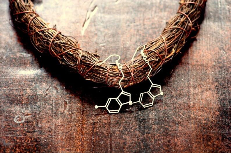 Strukturform Earrings Serotonin image 0