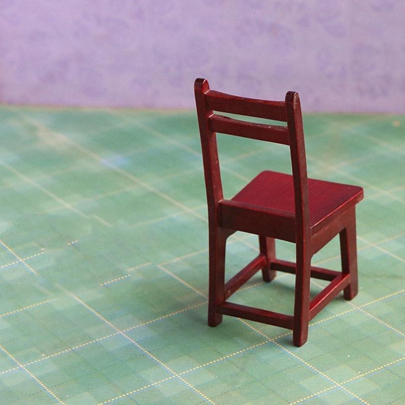 Miniature chair Miniatures Dollhouse furniture Dollhouse miniature Dollhouse decoration Dollhouse miniature artisan Photography props