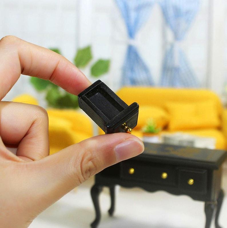 Miniature table Miniature desk Miniature furniture BJD doll table Dollhouse miniatures Dollhouse miniature artisan Photography props