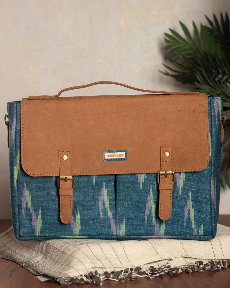 16 inch Laptop Bag Laptop Bag for Men Laptop Bag Laptop Bag for Women Sustainable Laptop Bag for Work Handcrafted Laptop Bag