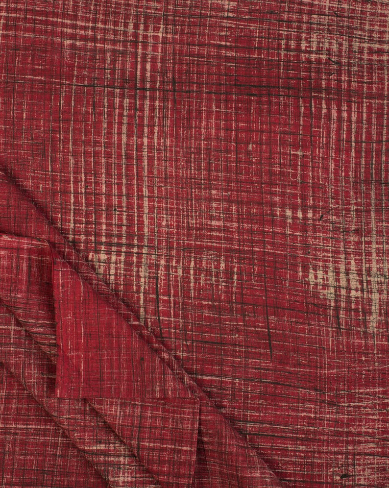 Sewing Dress Material Fuchsia Indian Cotton 100/% Ajrak Brushed Hand block Natural Dye Print Fabric Fabric by The Yard Sarong Fabriclore