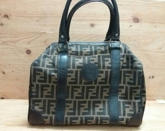 vintage FENDI ZUCCA monogram speedy bag style c7b880db1a