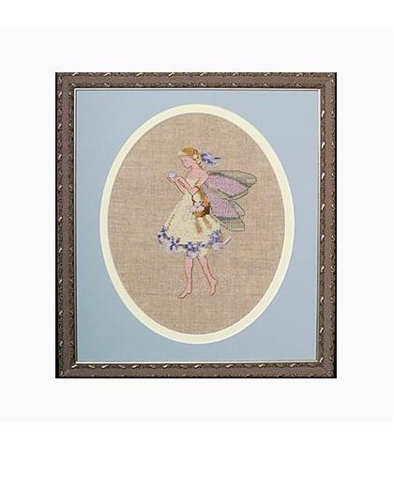 Worldwide Free Shipping Mirabilia Nora Corbett Cross Stitch Kit Easter Fairy
