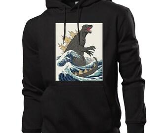 Godzilla Sweater Etsy