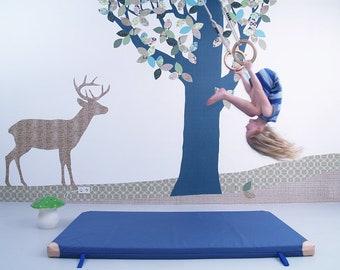Behang Kinderkamer Vissen : Walvis kinderkamer behang gemaakt van fleece etsy