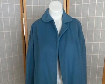 Vintage 1960's blue 100% cashmere jacket
