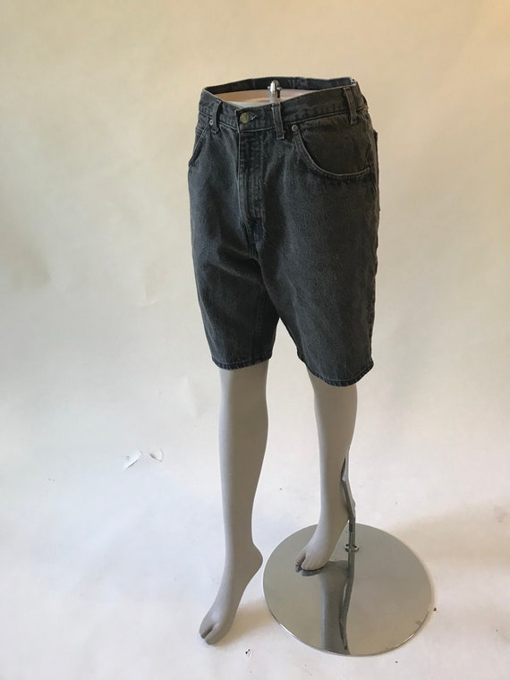 Vintage 1980s jean shorts denim shorts