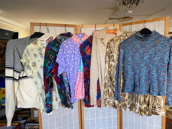 Vintage Lot of 8 1950's, 1960's, 1970's Shirts, To
