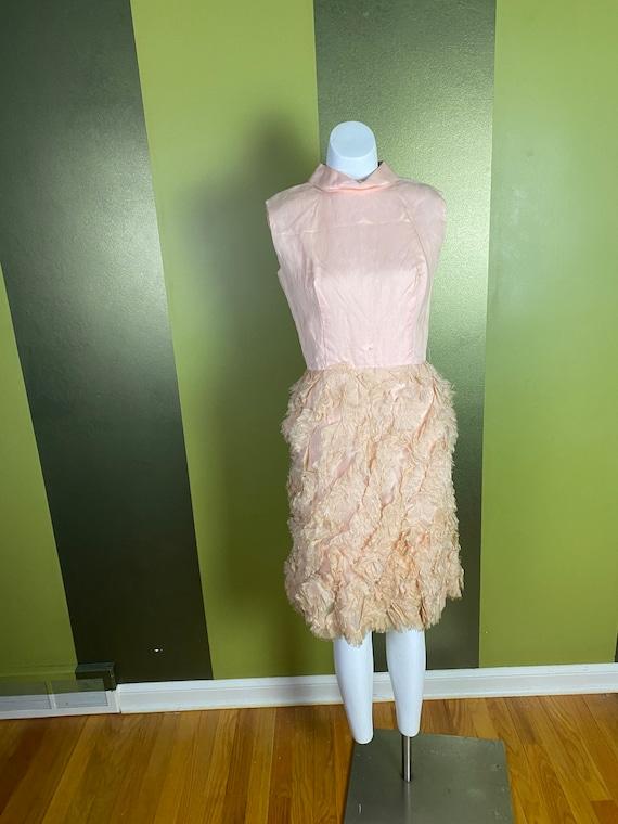 Vintage 1960s Lace Skirt Original Jr White Lace Pencil Skirt Theme New York