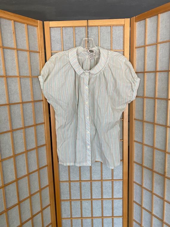 Vintage organically grown shirts by arpeja, pastel