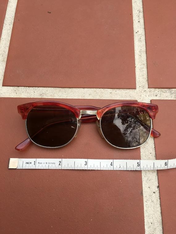 Vintage 1950's Red Sunglasses
