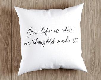 Marcus Aurelius quote pillow