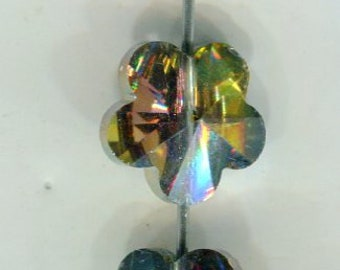 85 Stück Glaswachsperlen 10 mm d grau Perlen basteln Schmuck Perlen 258