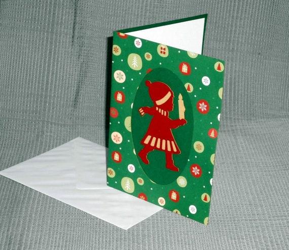 handgemachte Weihnachtskarten Design Karten dänischer | Etsy