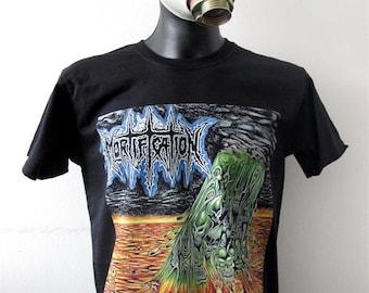 8048b1b760 T-shirt MORTIFICATION [M] Tourniquet Living Sacrifice Extol Deliverance  Believer Torture Squad Demon Hunter Loudblast Baphomet Agressor