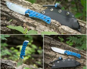"Handmade in Canada, Nitro-V Stainless Steel (3/16"") Orion MK2 Knife by Artemis Knife Works"