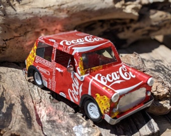 Recycled Tin Can Model: Coke / Coca-cola mini