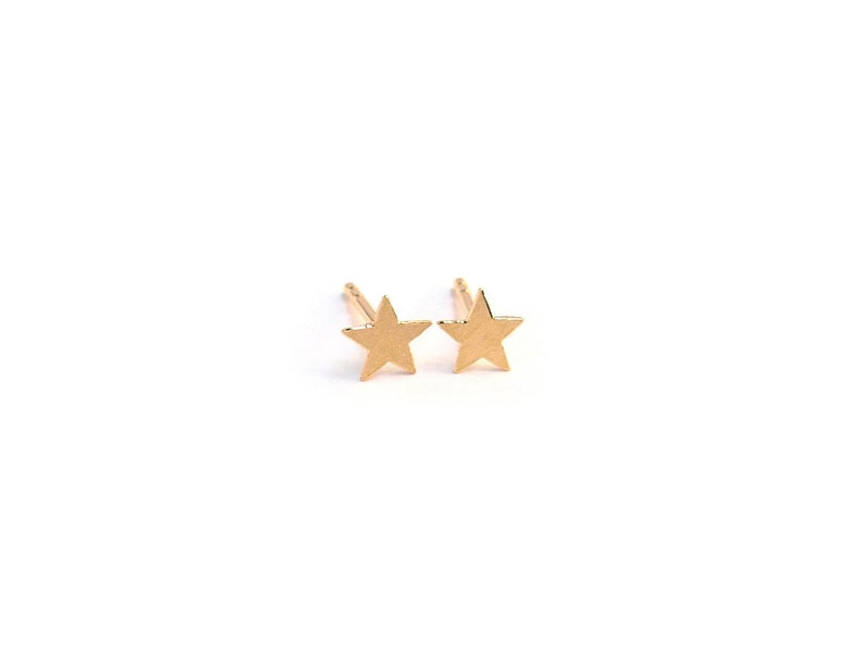 star earrings small golden star studs Star stud earrings gold plated star earrings golden star earrings golden star stud earrings