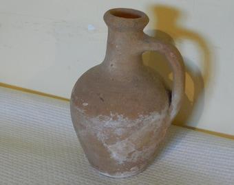Large French Stoneware Jug Salt Glaze Gres de Bonny Fait Main Farmhouse Kitchen Decor